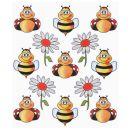 Hobby - Design Sticker Biene,1 Blatt