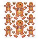 Hobby - Design Sticker Lebkuchen ,1 Blatt