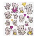 Hobby - Design Sticker Elefant ,1 Blatt