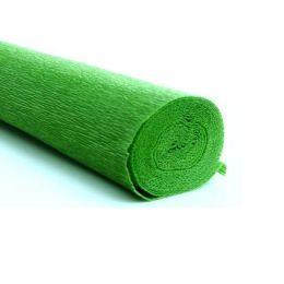Floristikkrepp Papier hellgrün 50cm x 250cm, 1 Rolle