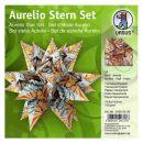 Aurelio Stern Set ART braunTransparentpapier 14,8 x...