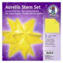 Aurelio Stern Set Transparentpapier gelb 20 x 20cm 115g,...