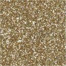 Geschenkanhänger 10 x 5cm Gold Glitter, 15 Stück