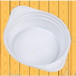 Suppenterrine PP 500ml mit Ohren weiß, 100 Stück