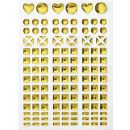 Mosaik Sticker I gold, 1 Blatt