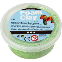 Foam Clay metallic grün 35g Dose
