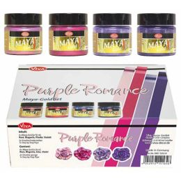 Viva Maya Gold Set Purple Romance 4 x 45ml