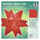 Aurelio Stern Set Transparentpapier rot 30 x 30cm 115g,...