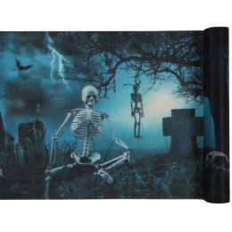 Tischläufer Halloween Spuk 30cm x 5m, 1 Rolle