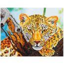 Pracht Diamond Dotz Leoparde 47,7 x 35,5cm, 1 Stück