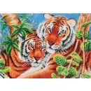 Pracht Diamond Dotz Tigerpaar 52 x 39cm, 1 Stück