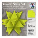 Aurelio Stern Set PLEASURE hellgrün 15 x 15cm 135g,...