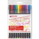 Edding Brushpen 10er Set Color , 1 Etui