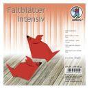 """Faltblatt """"Uni"""" rot  15 x 15cm 65g, 100Blatt"""