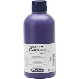 Schmincke Akademie Acrylfarbe Opak Brillantviolett, 500ml