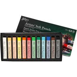 Gallery soft Pastelkreide 12 sortierte Farben, 1 Pack