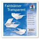 Faltblätter Transparentpapier weiss 14 x 14cm 42g,...