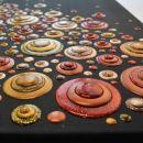 Viva Blob Paint FarbSet Golden Glow, 6 x 90ml