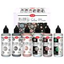 Viva Blob Paint FarbSet Silver Moon, 6 x 90ml