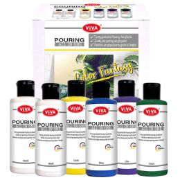 Viva Pouring All in One - Set Color Fantasy, 6 x 90ml