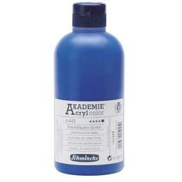 Schmincke Akademie Acrylfarbe Opak Kobaltblauton dunkel, 500ml