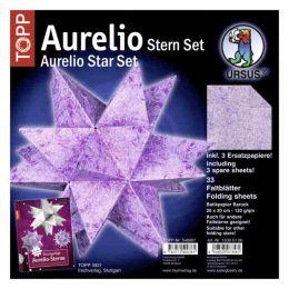 Aurelio Stern Set BATIKPAPIER 20 x 20cm 120g, 33Blatt