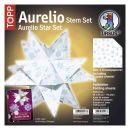 Aurelio Stern Set EISBLUME 20 x 20cm 110g, 33Blatt