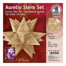 Aurelio Stern Set AMOS creme / braun 15 x 15cm 110g, 33 Blat