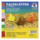 "Faltblatt ""intensiv""  20 x 20cm 65g, 100Blatt"