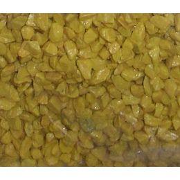 Deko Granulat, gelb, 2,5-4mm, in 666ml Stehbeutel 1 kg, 1 Packung