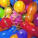 P+ D Serviette, Colourful ballloons, 3 lagig, 33x33cm,...